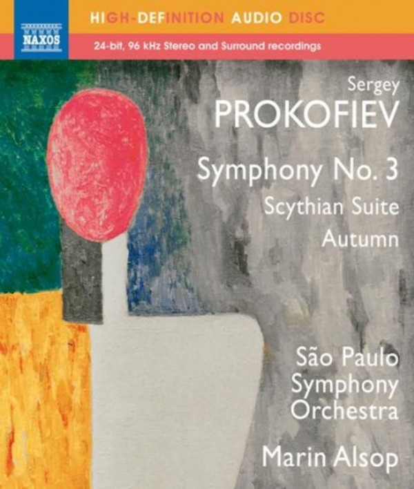 Prokofiev - Symphony No.3, Scythian Suite, Autumn (Blu-ray Audio)
