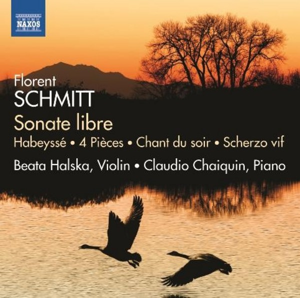 Florent Schmitt - Works for Violin and Piano | Naxos 8573169