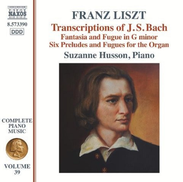 Liszt - Complete Piano Music Vol.39: Bach Transcriptions