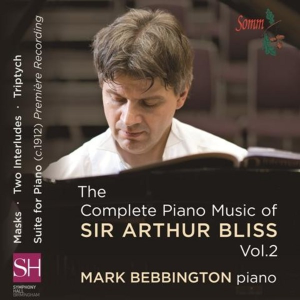The Complete Piano Music of Sir Arthur Bliss Vol.2 | Somm SOMMCD0148