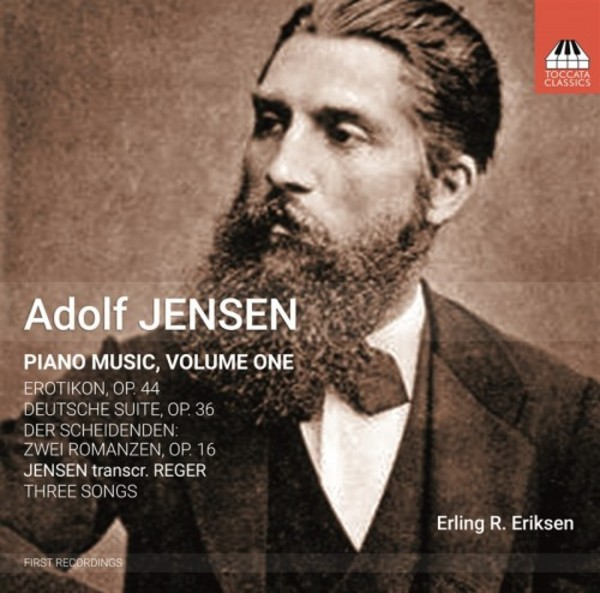 Adolf Jensen - Piano Music Vol.1 | Toccata Classics TOCC0232