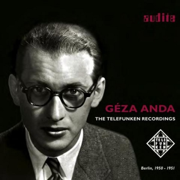 Geza Anda: The Telefunken Years | Audite AUDITE95720