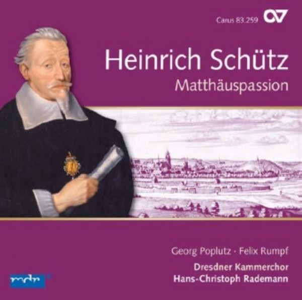 Schutz - St Matthew Passion | Carus CAR83259