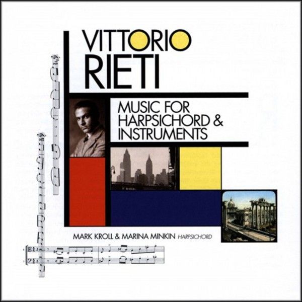 Vittorio Rieti - Music for Harpsichord and Instruments | New World Records NW80764