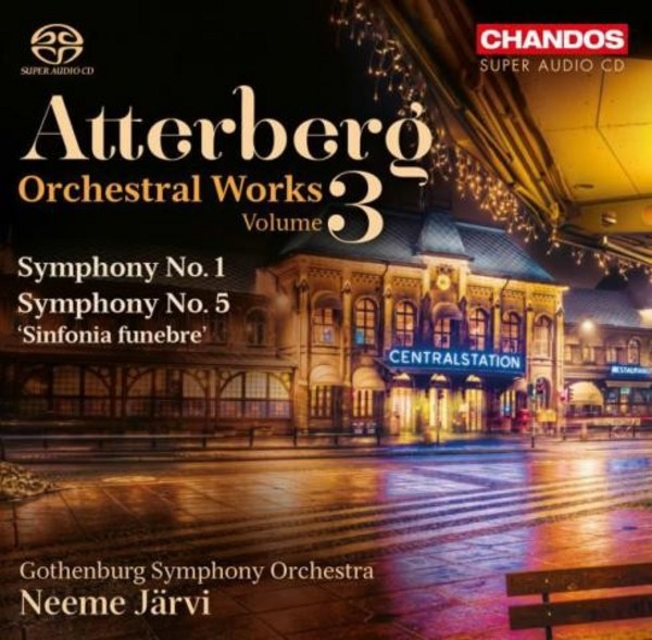 Atterberg - Orchestral Works Vol.3 | Chandos CHSA5154