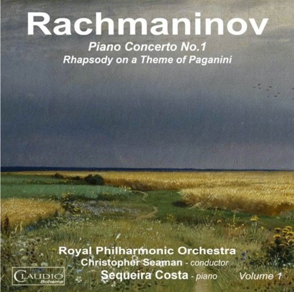 Rachmaninov - Piano Concerto No.1, Rhapsody on a Theme of Paganini | Claudio Records CB60262