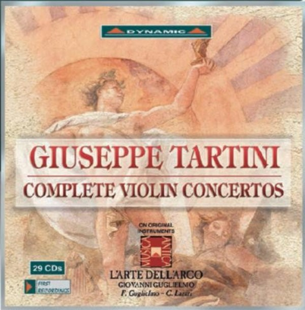 Tartini - Complete Violin Concertos | Dynamic CDS7713129
