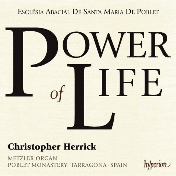 Power of Life | Hyperion CDA68129