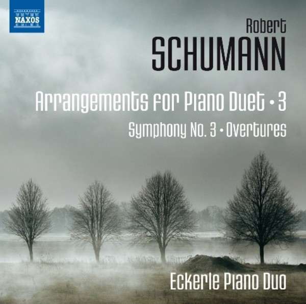 Schumann - Arrangements for Piano Duet Vol.3 | Naxos 8572879