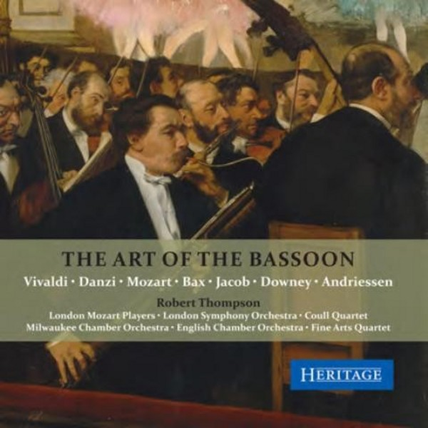 The Art of the Bassoon | Heritage HTGCD402
