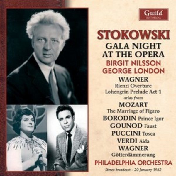 Leopold Stokowski: Gala Night at the Opera | Guild - Historical GHCD2410