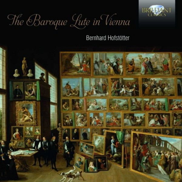 The Baroque Lute in Vienna | Brilliant Classics 95087BR