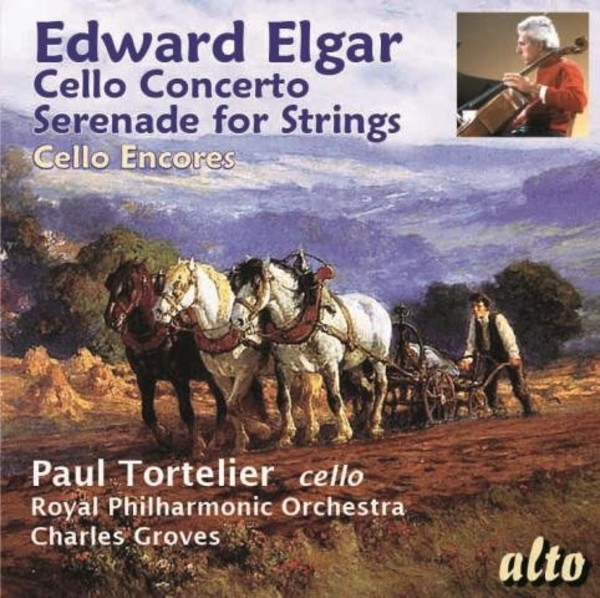 Elgar - Cello Concerto, Serenade for Strings, Cello Encores | Alto ALC1265