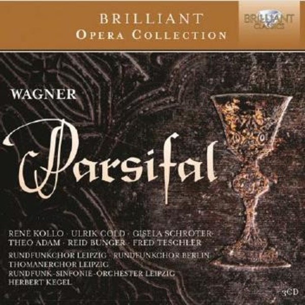 Wagner - Parsifal | Brilliant Classics 95120BR