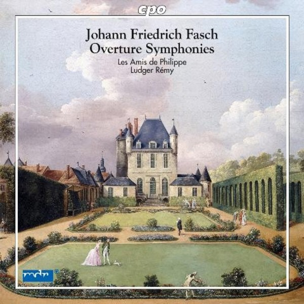 Fasch - Overture Symphonies | CPO 7779522