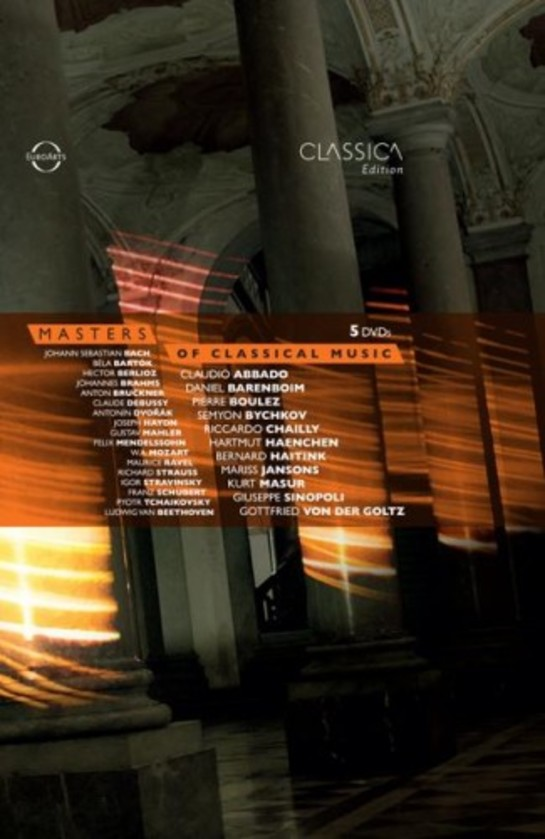 Masters of Classical Music (DVD) | Euroarts 2060858