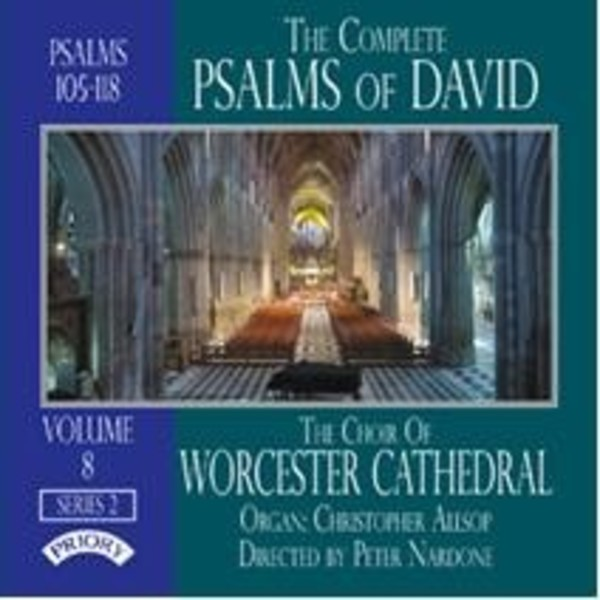 The Complete Psalms of David Vol.8 | Priory PRCD1140