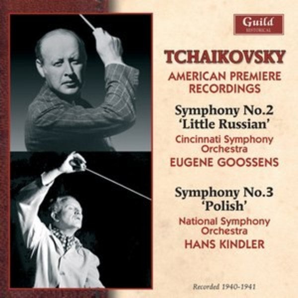 Tchaikovsky - American Premiere Recordings