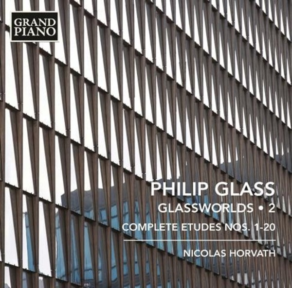 Glass - Glassworlds Vol.2, Complete Etudes | Grand Piano GP690