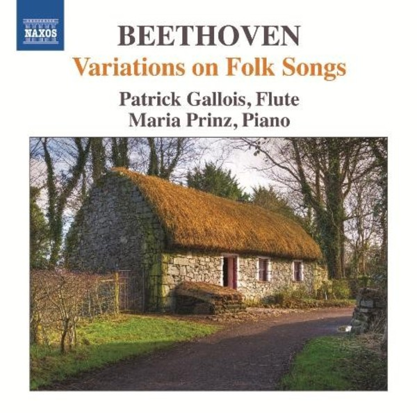 Beethoven - Variations on Folk Songs | Naxos 8573337