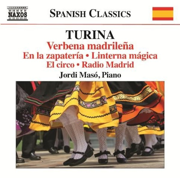 Turina - Piano Music Vol.11 | Naxos - Spanish Classics 8573401