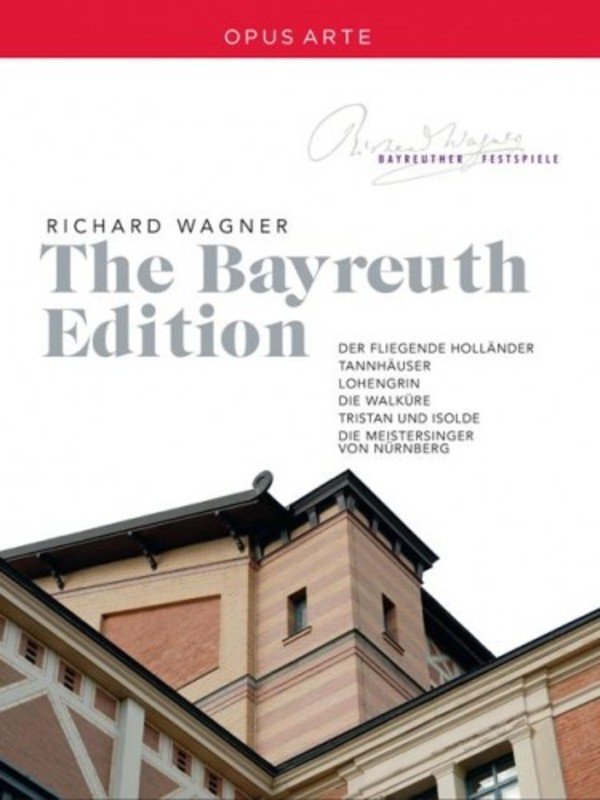 Wagner - The Bayreuth Edition (Blu-ray) | Opus Arte OABD7184BD