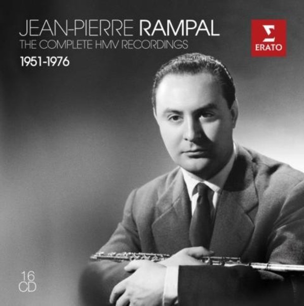 Jean-Pierre Rampal: The Complete HMV Recordings 1951-1976 | Erato 2564619039