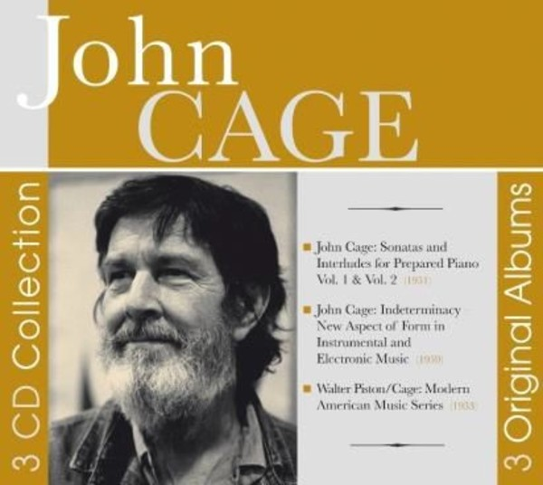 John Cage - 3 Original Albums | Documents 600262