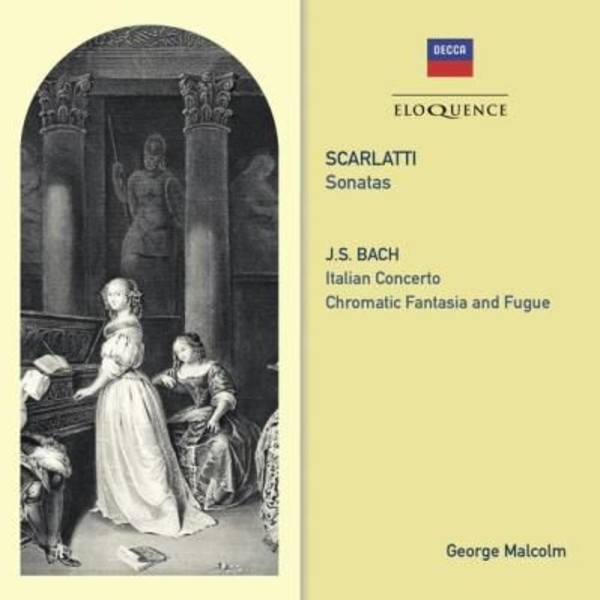 George Malcolm plays Scarlatti and Bach | Australian Eloquence ELQ4820506