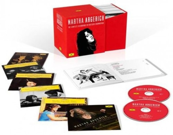 Martha Argerich: The Complete Recordings on Deutsche Grammophon | Deutsche Grammophon 4794647