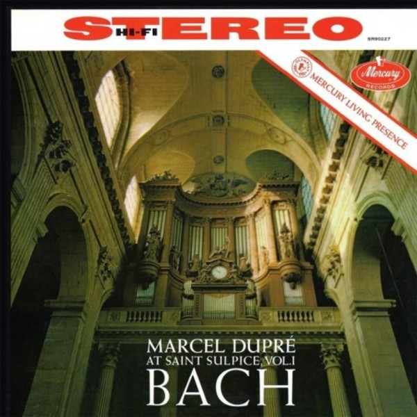 Marcel Dupre at St.Sulpice Vol.1