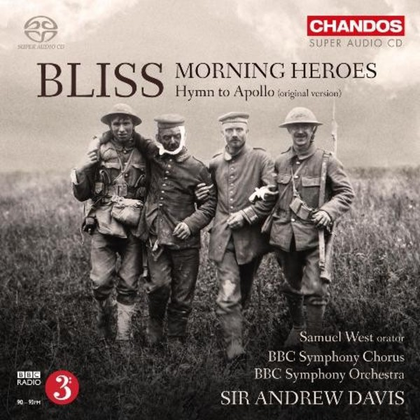 Bliss - Morning Heroes, Hymn to Apollo | Chandos CHSA5159