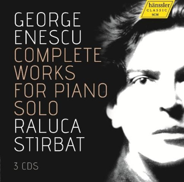 Enescu - Complete Works for Piano Solo | Haenssler 98060