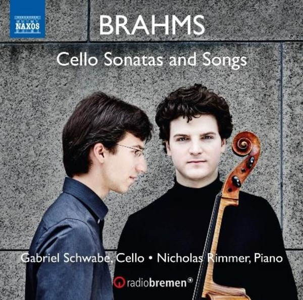 Brahms - Cello Sonatas and Songs | Naxos 8573489