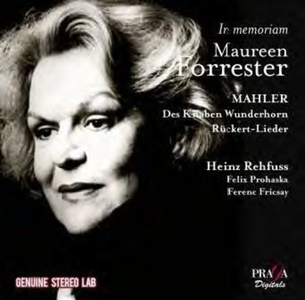 In Memoriam Maureen Forrester | Praga Digitals PRD250313