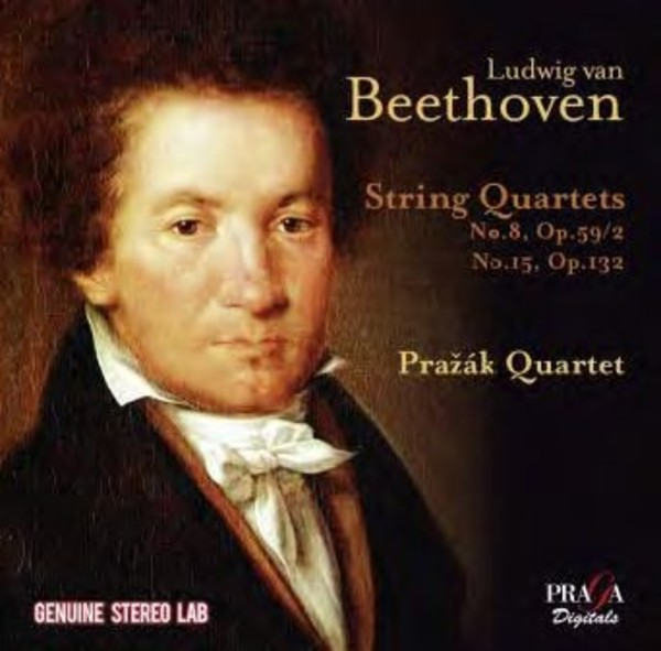 Beethoven - String Quartets Nos 8 & 15 | Praga Digitals PRD250314