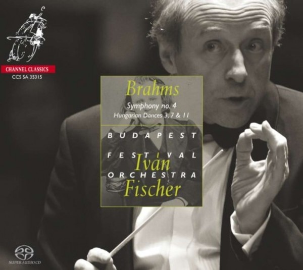 Brahms - Symphony No.4, Hungarian Dances | Channel Classics CCSSA35315