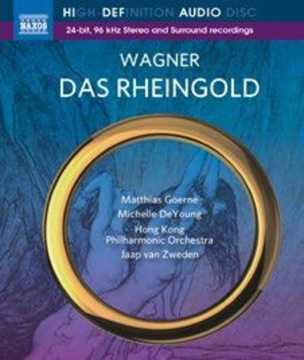 Wagner - Das Rheingold (blu-ray audio) | Naxos - Blu-ray Audio NBD0049
