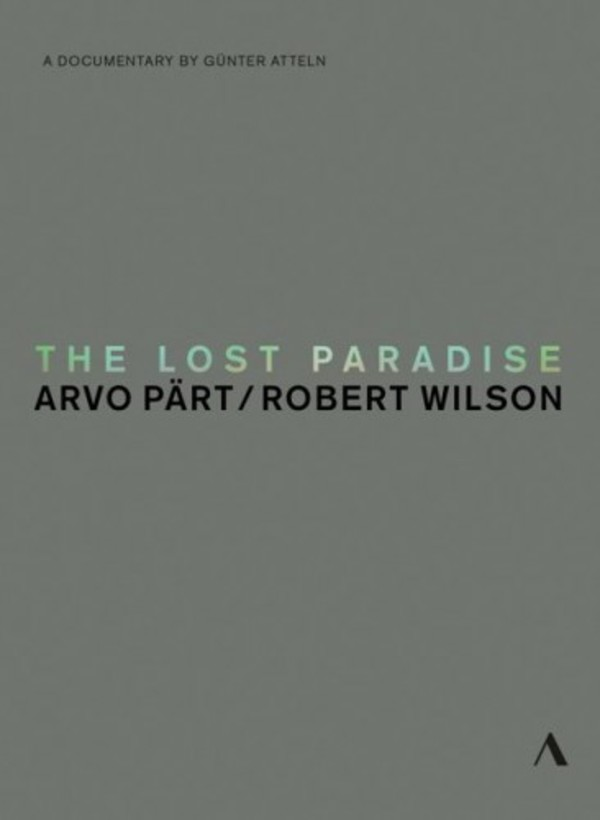 Arvo Part - The Lost Paradise | Accentus ACC20321