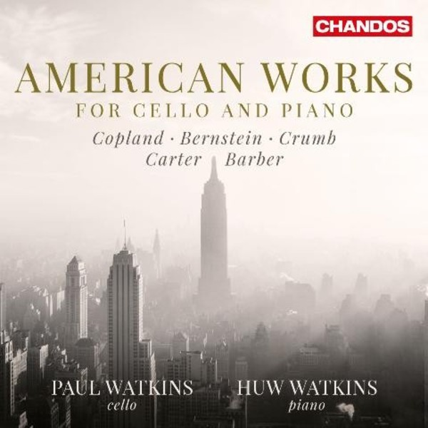 American Works for Cello and Piano | Chandos CHAN10881