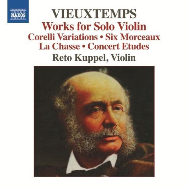 Vieuxtemps - Works for Solo Violin | Naxos 8573339