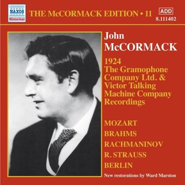 The McCormack Edition Vol.11