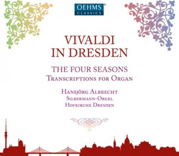 Vivaldi in Dresden (Transcriptions for Organ) | Oehms OC1822