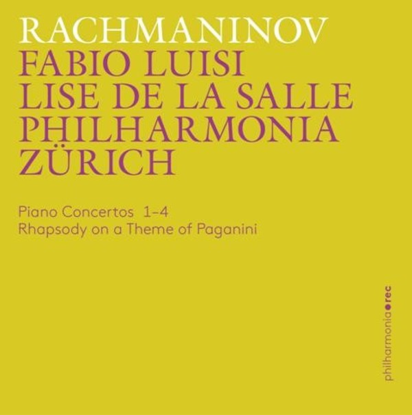 Rachmaninov - Piano Concertos Nos 1-4, Rhapsody on a Theme of Paganini | Accentus PHR0104