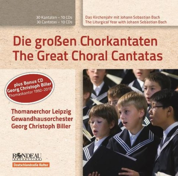 J S Bach - The Great Choral Cantatas | Rondeau ROP4046