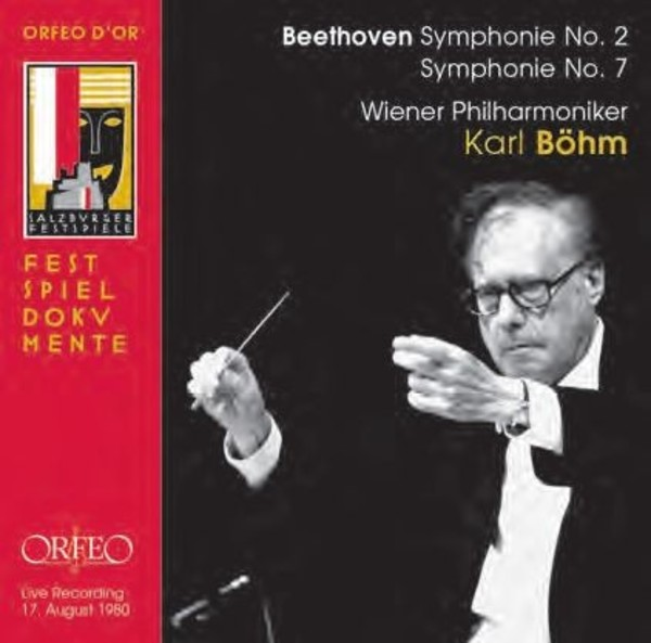 Beethoven - Symphonies Nos 2 & 7 | Orfeo - Orfeo d'Or C910151