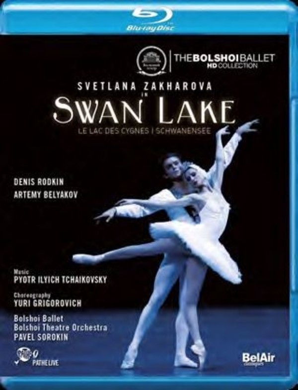 Tchaikovsky - Swan Lake (Blu-ray) | Bel Air BAC419
