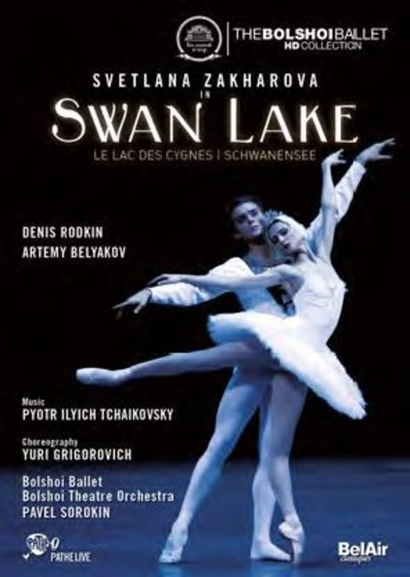 Tchaikovsky - Swan Lake (DVD) | Bel Air BAC119
