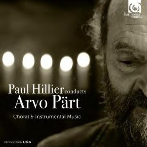 Paul Hillier conducts Arvo Part (Choral & Instrumental Music) | Harmonia Mundi HMX290873032