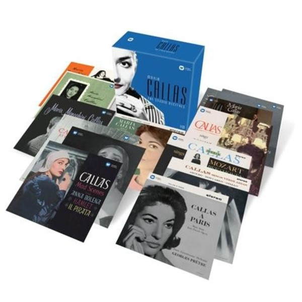 Maria Callas: The Complete Studio Recitals Remastered | Warner 2564601611
